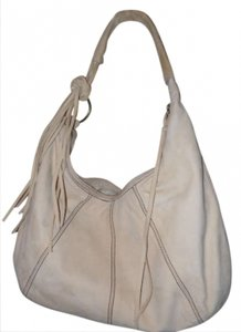 Nordstrom Suede Fringed Leather Hobo Bag