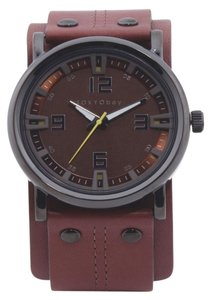 TOKYObay Men's Archer Leather Cuff Watch