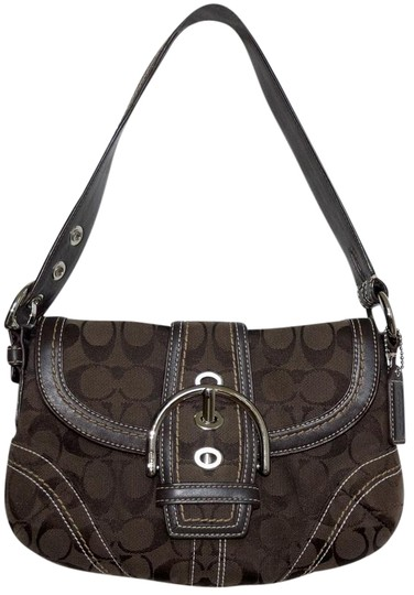 Preload https://img-static.tradesy.com/item/18905428/coach-with-leather-trim-soho-buckle-handbag-brown-signature-jacquard-hobo-bag-0-1-540-540.jpg