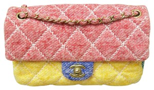 Chanel Quilted Cf Cross Body Bag