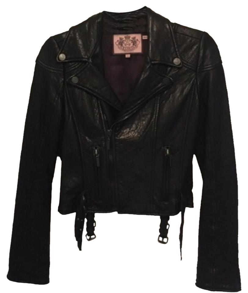 Couture leather jacket