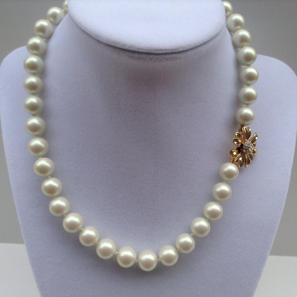 Kate Spade Kate Spade New York Dazzling Daisies Faux Pearl Necklace