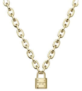 Michael Kors Michael Kors Gold-Tone Pendant Necklace