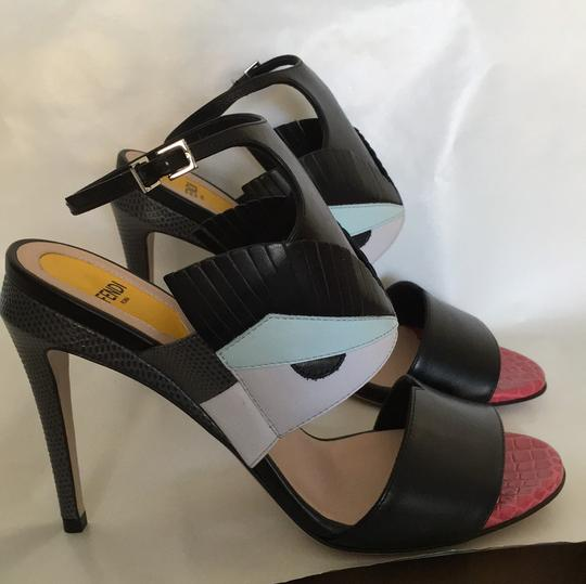 Fendi Multi Color Sandals Image 1