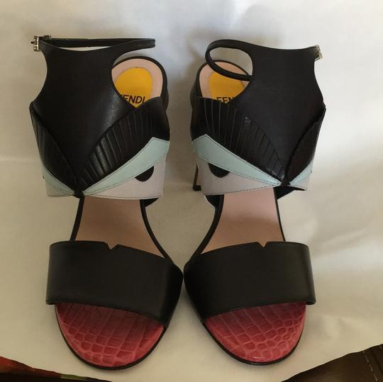 Fendi Multi Color Sandals Image 2