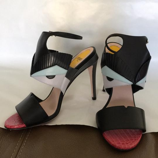 Fendi Multi Color Sandals Image 9