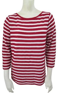 Talbots Sequin Striped Sweater