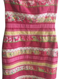 Lilly Pulitzer short dress Pink, patterned on Tradesy