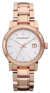 Burberry Burberry Women's Heritage Rose Gold-Plated The City Watch BU9104