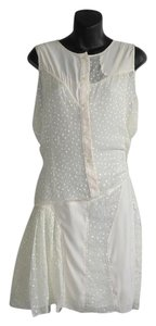 Richard Chai short dress White on Tradesy