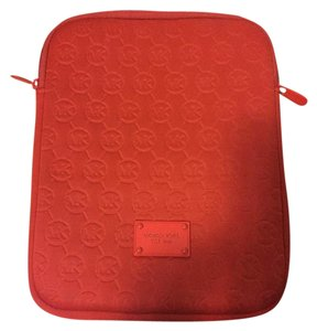 Michael Kors Michael Kors Neoprene iPad Zippered Case- Blood Orange