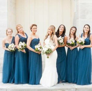 BHLDN Lapis Blue Dress