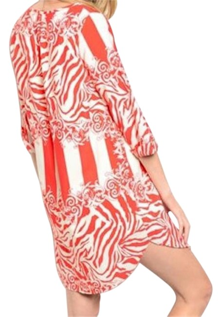 Other Zebra Stripe Tunic beach Cover-Up Image 0