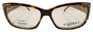 Caviar Eyewear CAVIAR 6172 EYEGLASSES TORTOISE BROWN (16) CRYSTAL STONES NEW