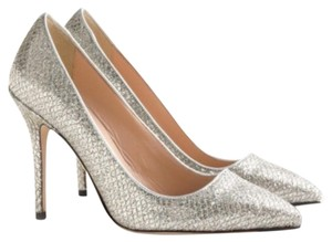 J.Crew Silver & Gold Pumps