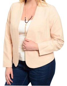 Other light peach Blazer