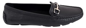 Gucci Moccasin Gg Black Flats