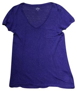 J.Crew T Shirt Purple