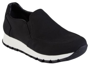 Prada Slip On Sneaker Black Athletic