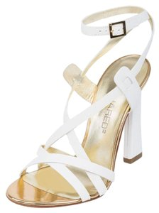 Dsquared2 2 Summer Heels White Sandals