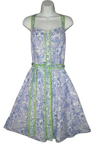 Lilly Pulitzer short dress Floral Cotton Fit & Flare on Tradesy