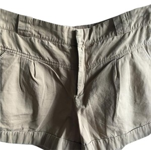 Mango Dress Shorts Khaki