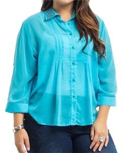 Button Down Shirt blue
