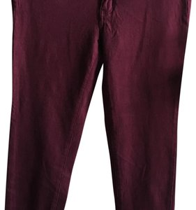American Eagle Outfitters Maroon Leggings