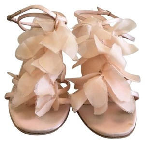 Christian Louboutin Petal Satin Wedding Pink Formal
