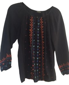 Lucky Brand Embroidered Tunic