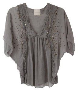 Saivana Embellished Top Grey