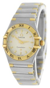 Omega Sale!! Ladies Omega Constellation Mini 18K Gold Stainless Steel 22MM