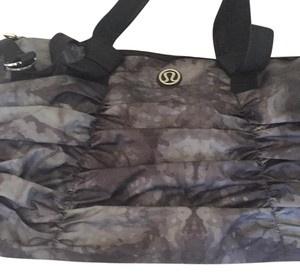 Lululemon Black/grey Beach Bag