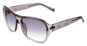 Louis Vuitton Grey acetate Louis Vuitton oversize aviator sunglasses