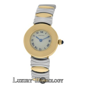 Cartier Genuine Ladies Cartier Colisee 1711 Stainless Steel 18K Rose Gold