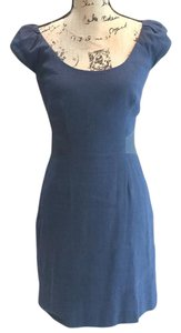 Rebecca Taylor short dress Navy blue on Tradesy