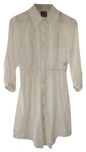 Free People Lace Floral Summer Fall Tunic