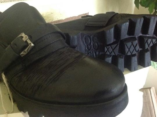 A.S. 98 Ankle Black Leather Boots Image 1
