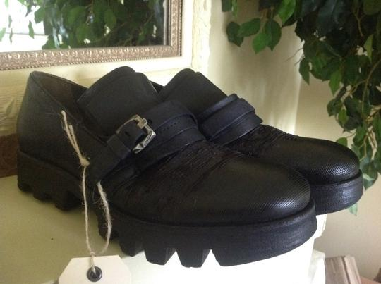 A.S. 98 Ankle Black Leather Boots Image 3