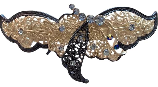 Item - Blue Butterfly Clip Hair Accessory