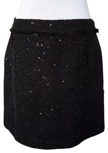 Michael Kors Formal Elegant Work Mini Skirt Black