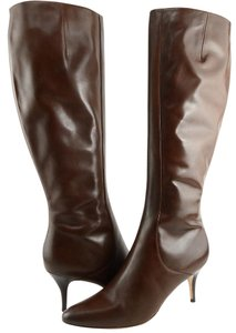 Cole Haan Carlyle Brown Designer Size 8.5 Chestnut Boots