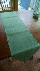 14 Sage Green Table Runners