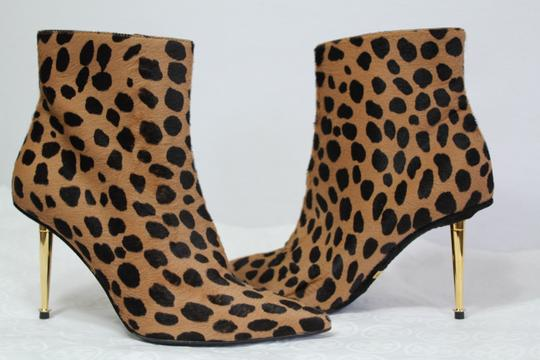 Tom Ford Fall Calf Hair Leopard Boots Image 3