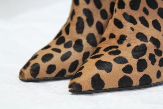 Tom Ford Fall Calf Hair Leopard Boots Image 7