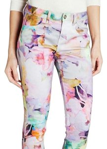 Ted Baker Watercolor Straight Leg Jeans