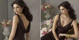 Jim Hjelm Cocoa 5869 Dress