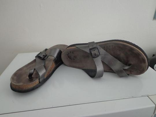 Mephisto Silver Sandals Image 1