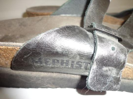 Mephisto Silver Sandals Image 2