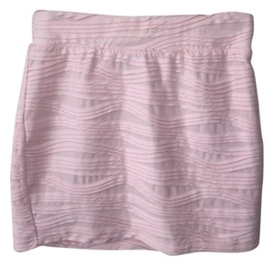 Urban Outfitters Mini Mini Skirt Pale Pink